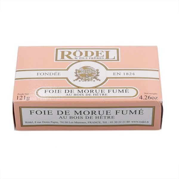 Rödel Foie de Morue fumé au bois de hêtre - Boîte 121g