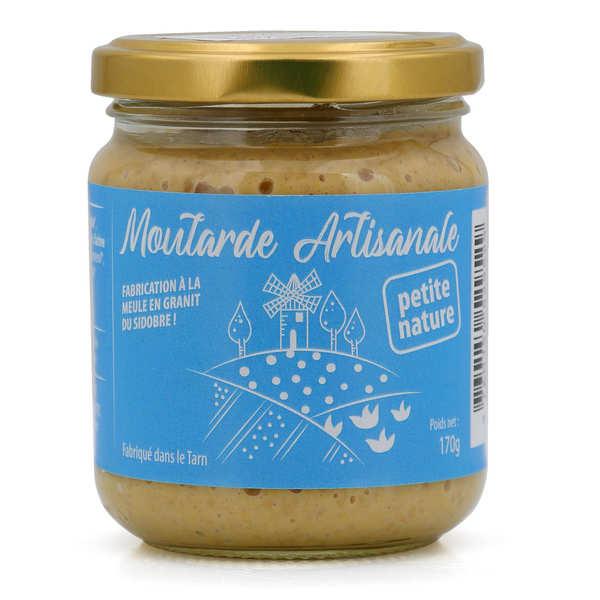 Moutarde Eglantine de Lautrec Moutarde artisanale et bio de Lautrec - Pot 170g