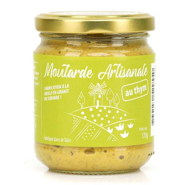 Moutarde Eglantine de Lautrec Moutarde au thym de Lautrec - Pot 170g
