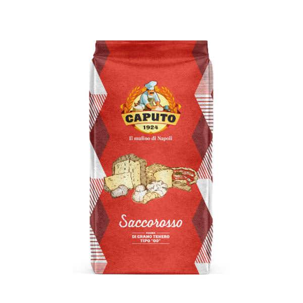 Caputo Farine Caputo Saccorosso - type00 rouge - 250kg (10 sacs de 25kg)