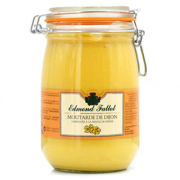 Fallot Moutarde de Dijon Edmond Fallot en bocal Le Parfait 1.1kg - Bocal pratique 1.1kg