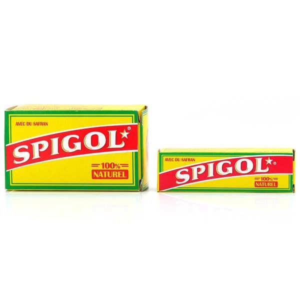 Spigol® - mélange d'épices pour paëlla dont 3% de safran en dosettes - Etui 50 doses
