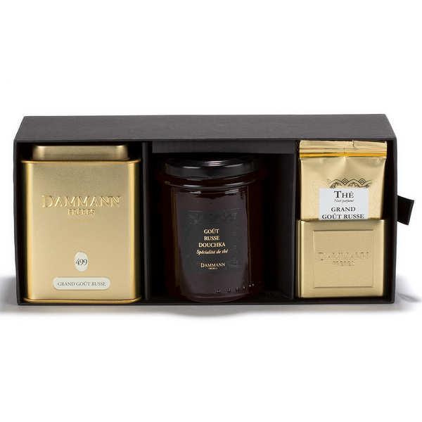 Dammann frères Coffret thés Grand Goût Russe - Coffret thé et spécialité de thé