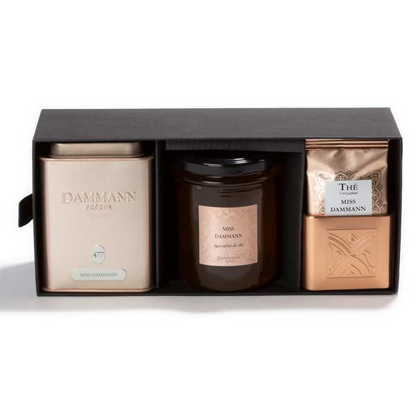 Dammann frères Coffret thé Miss Dammann - Coffret thé et spécialité de thé