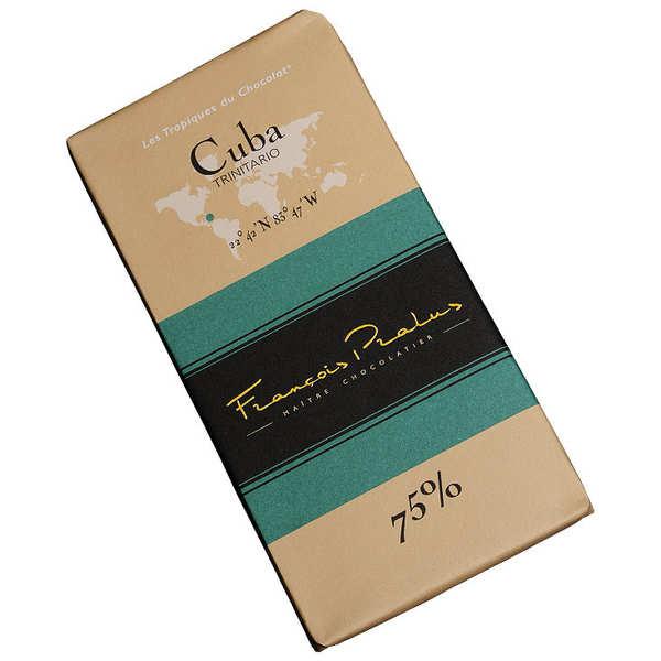 Chocolats François Pralus Tablette chocolat noir Cuba - Trinitario 75% - Tablette 100g