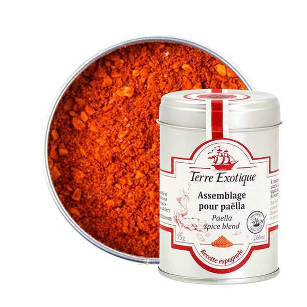 Terre Exotique Épices pour paëlla - Boîte 75g