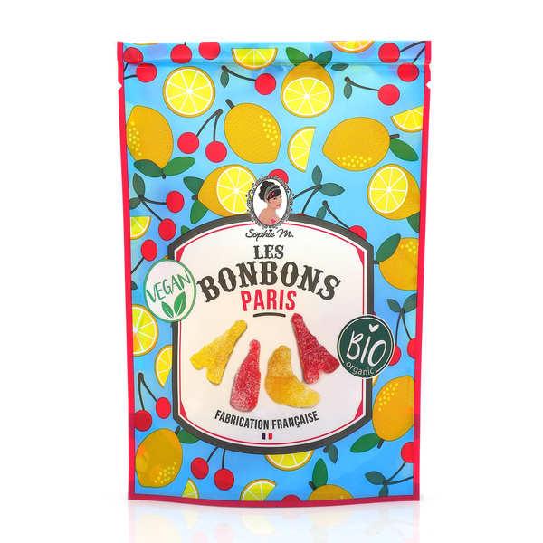 Sophie M Bonbons Paris - bio, vegan, sans lactose et sans gluten - Lot de 3 sachets de 80g