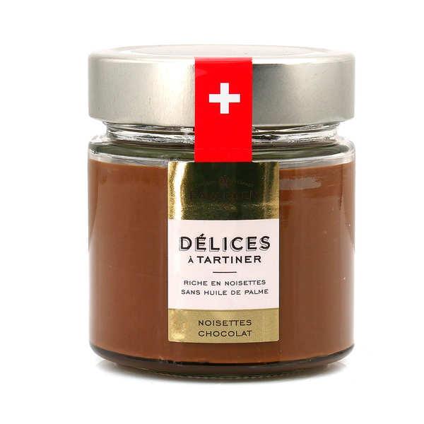 Favarger Pâte à tartiner Chocolat Suisse aux Noisettes - Pot 220g