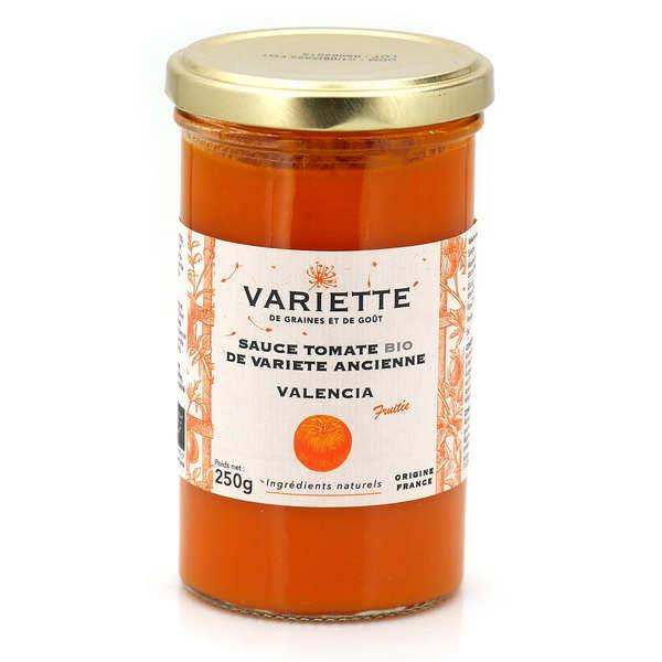 Variette Sauce tomate bio de variété ancienne Valencia orange - Pot 250g