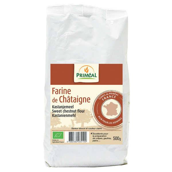 Priméal Farine de châtaigne bio - 6 sachets de 500g