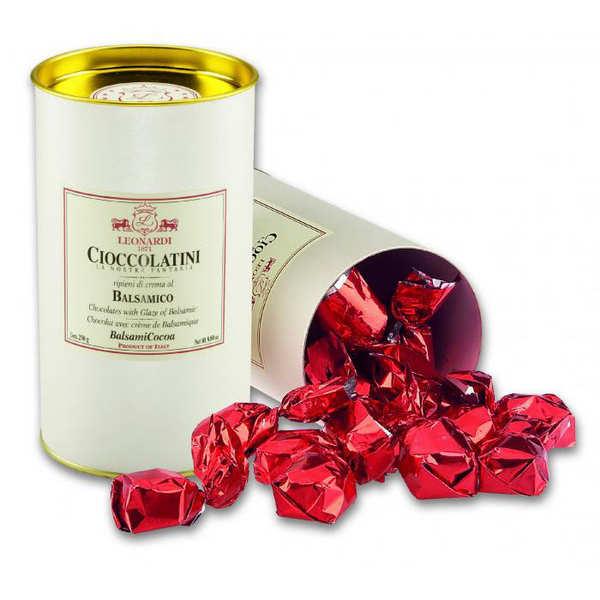 Vinaigrerie Leonardi Chocolats à la crème de balsamique - Boîte 250g