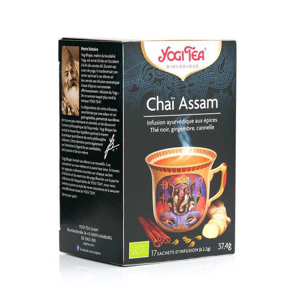 Yogi Tea Infusion Chaï Assam - Yogi Tea - Boîte 17 sachets