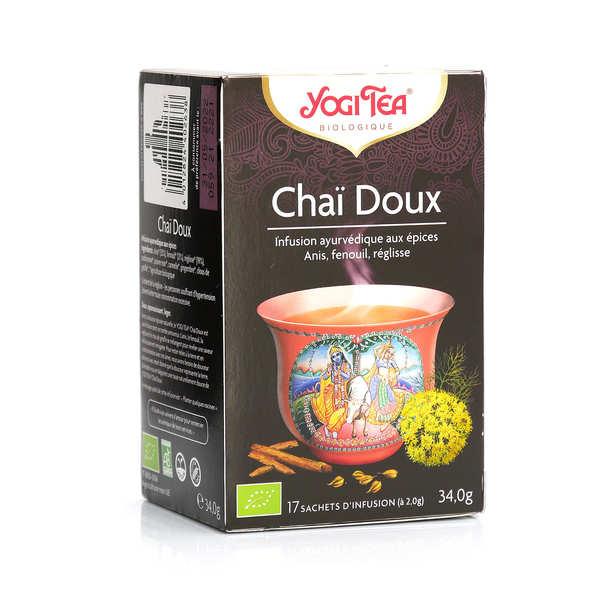 Yogi Tea Infusion Chaï Doux - Yogi Tea - Boîte 17 sachets
