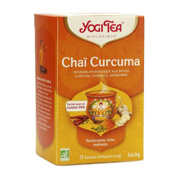 Yogi Tea Infusion Chaï curcuma - Yogi Tea - Boîte 17 sachets
