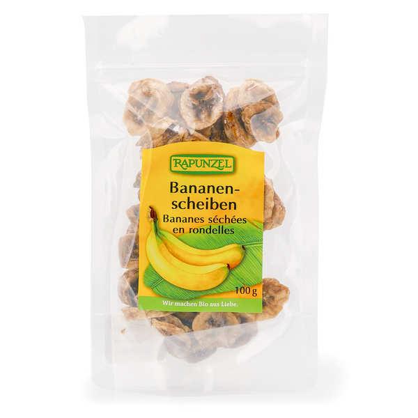 Rapunzel Bananes séchées en rondelles bio - Sachet 100g