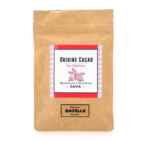 Castelanne Tablette chocolat noir origine Java - Gazelle 74% - Tablette 80g
