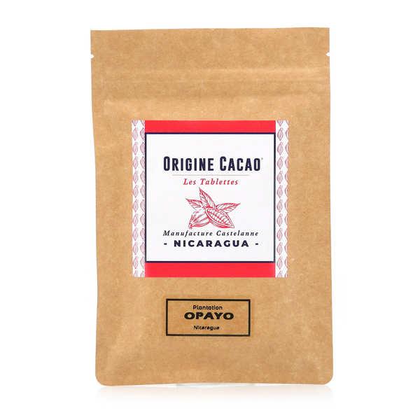 Castelanne Tablette chocolat noir origine Nicaragua - Opayo - Tablette 80g