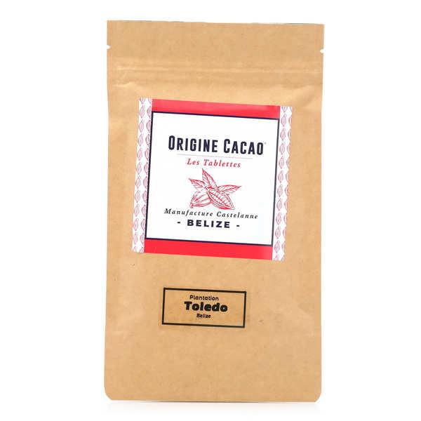 Castelanne Tablette chocolat noir Belize - Toledo 74% - Tablette 80g