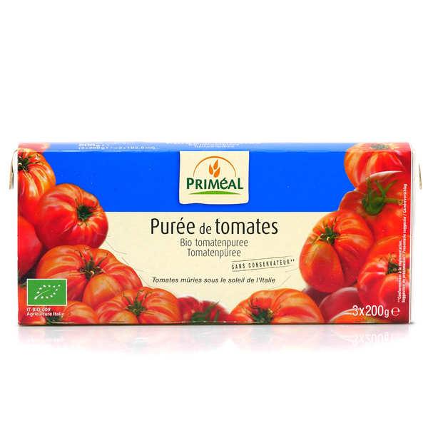 Priméal Purée de tomates italiennes bio - 3 briques de 200g