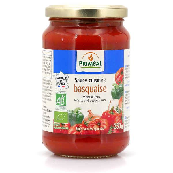 Priméal Sauce basquaise bio - Lot de 5 bocaux verre 350g