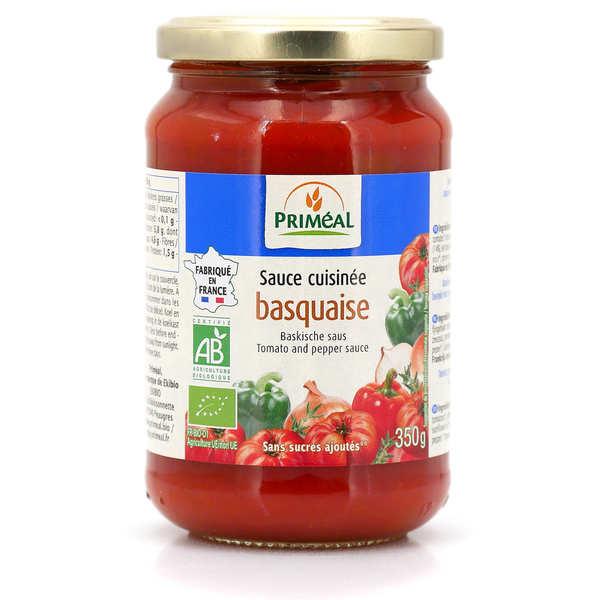 Priméal Sauce basquaise bio - Bocal verre 350g