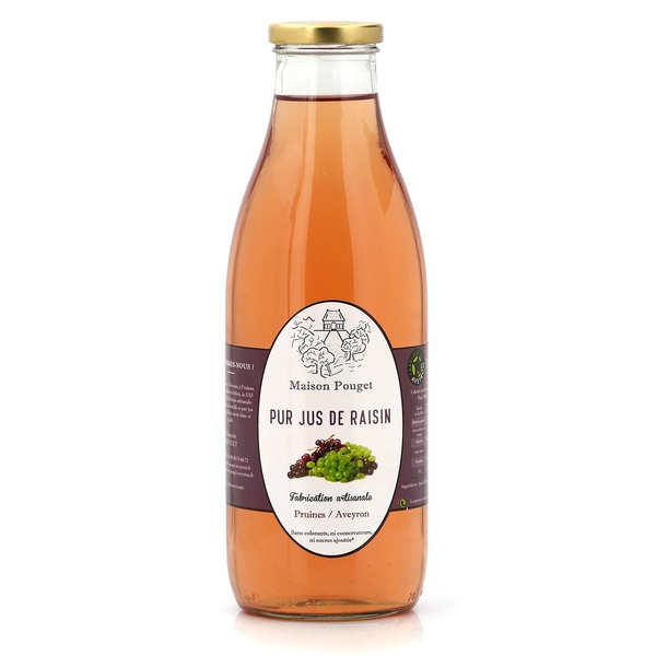 Maison Pouget Pur jus de raisins - 3 bouteilles de 1L