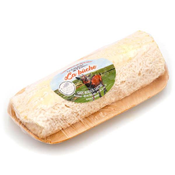Elevage Rodier-Sartre Bûche Cabrou de l'Aubrac - fromage fermier au lait cru de chèvre - La Bûche (min. 240g)