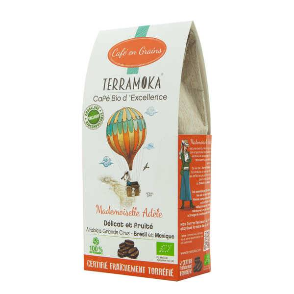 Terra Moka Adèle - café en grains grand cru bio - Sachet 200g