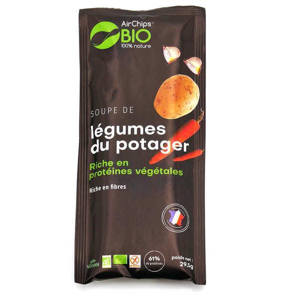Airchips™ Bio Soupe déshydratée et bio Légumes du potager - Sachet de 29.5g