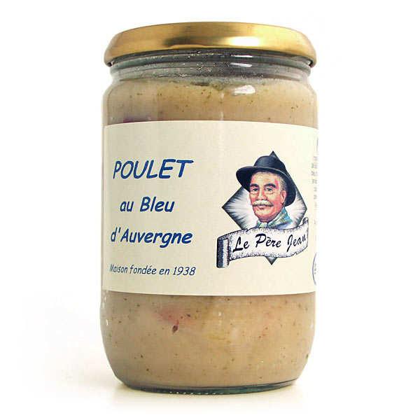 Le Père Jean Poulet au bleu d'Auvergne - Bocal 600g