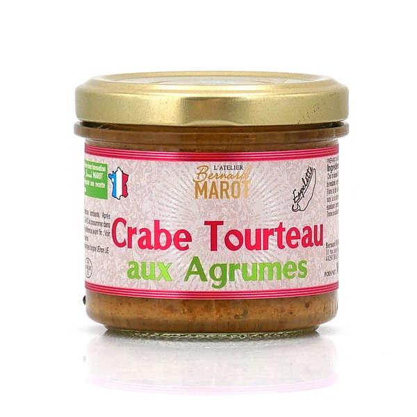 Bernard Marot Crabe Tourteau aux Agrumes & Sel de Guérande - Pot 100g
