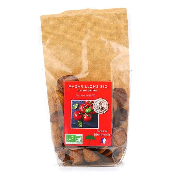Le père craquant Macarillons aux tomates et Basilic bio - Sachet 60g