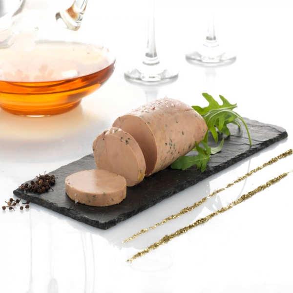 Valette L'Absolu - Foie gras d'oie mi-cuit au Muscat de Beaumes de Venise et Poivre Sauvage de Voatsiperifery - Barquette 200g (4 parts)