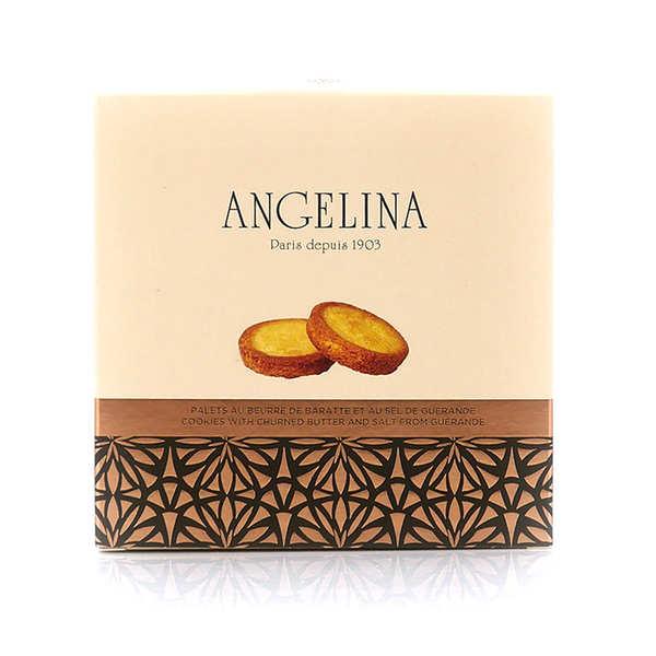 Angelina Paris Palets au beurre de baratte et sel de Guérande - Angelina Paris - Boite 125g