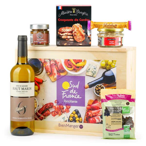 BienManger paniers garnis Coffret gastronomique Sud de France - Le meilleur de l'Occitanie - Le coffret cadeau