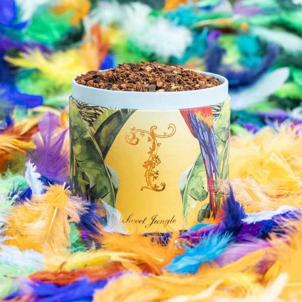 T by Ladurée Thé Ladurée Sweet Jungle - La boîte de thé en vrac 100g