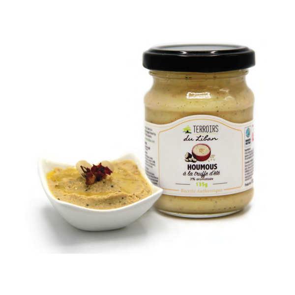 Terroirs du Liban Houmous à la truffe d'été (3%) - Pot de 135g