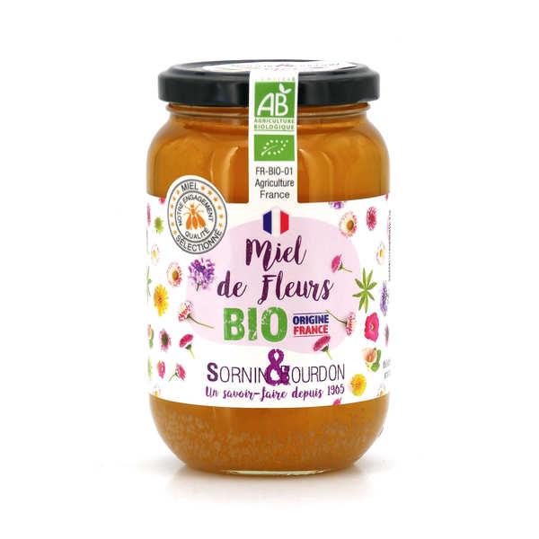 Sornin&Bourdon Miel de fleurs bio de France - Pot 250g
