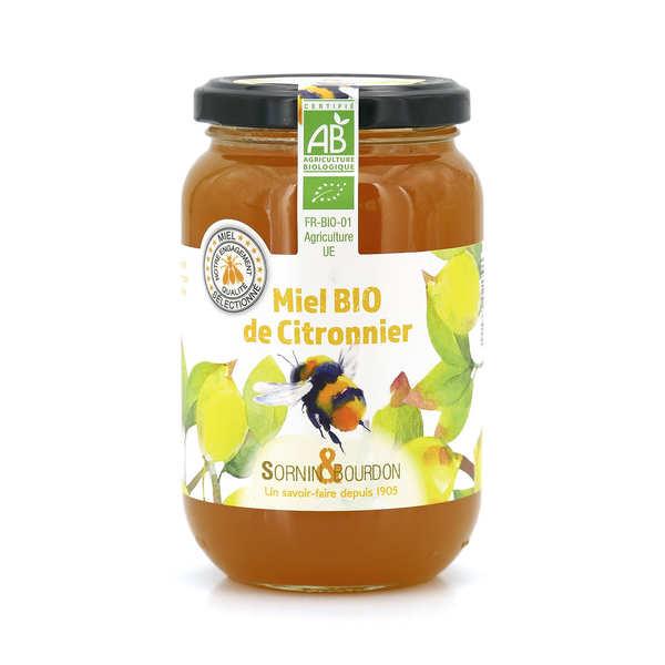 Sornin&Bourdon Miel de citronnier bio - Pot 500g