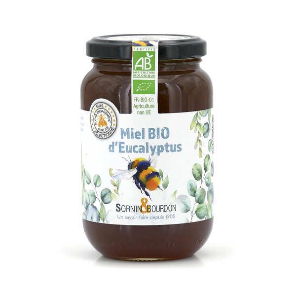 Sornin&Bourdon Miel d'eucalyptus bio - Pot 500g