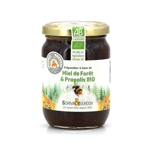 Sornin&Bourdon Miel de forêt à la propolis bio - Pot 350g