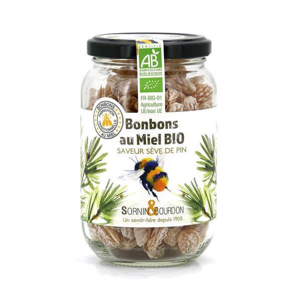 Sornin&Bourdon Bonbons au miel et sève de pin bio - Pot 250g