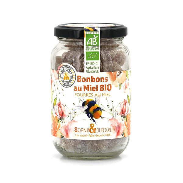 Sornin&Bourdon Bonbons fourrés au miel bio - Pot 250g
