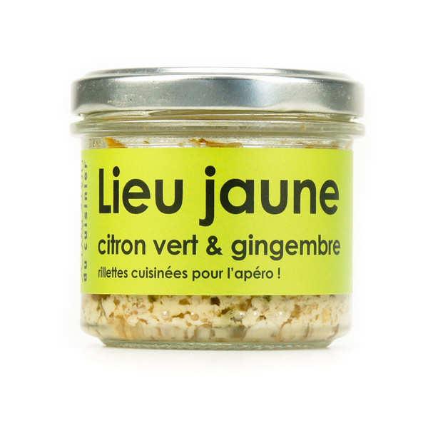 L'Atelier du Cuisinier Lieu jaune au gingembre et citron vert - cuisiné, à tartiner - Verrine80g
