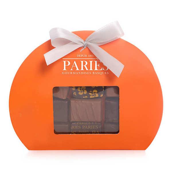 Maison Pariès Coffret Étoiles de chocolats frais Pariès - 3 coffrets (75g chacun)