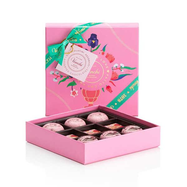 Venchi Coffret de chocolats des amoureux - Venchi - La boite (87g)