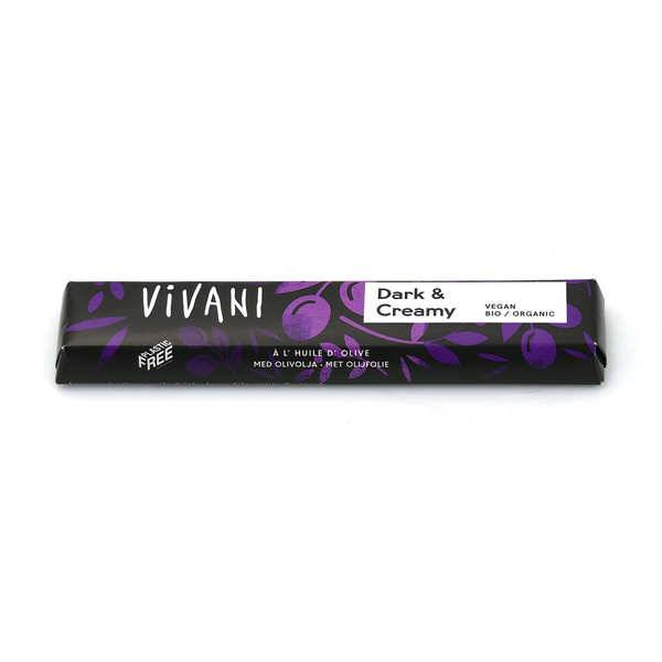 Vivani Barre de chocolat noir bio et vegan à l'huile d'olive - Vivani - 6 barres de 35g