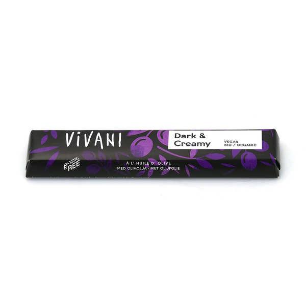 Vivani Barre de chocolat noir bio et vegan à l'huile d'olive - Vivani - 3 barres de 35g
