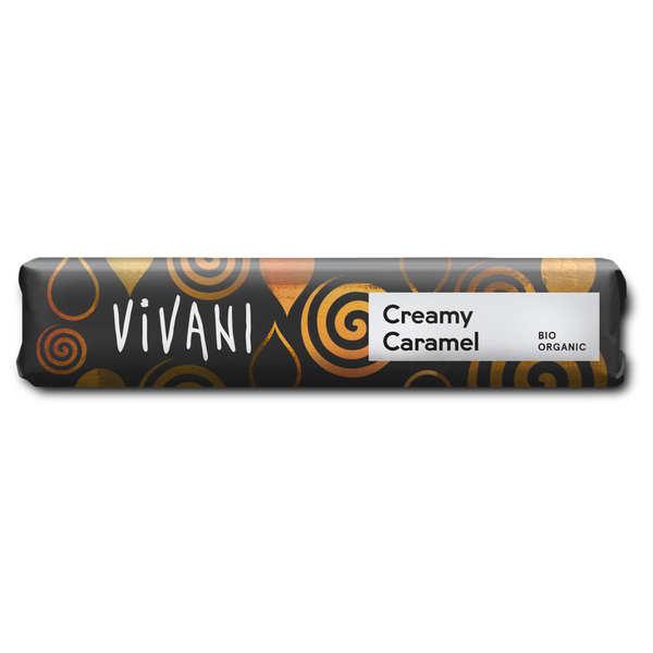 Vivani Barre de chocolat au lait bio fourré caramel - Vivani - 3 barres de 40g