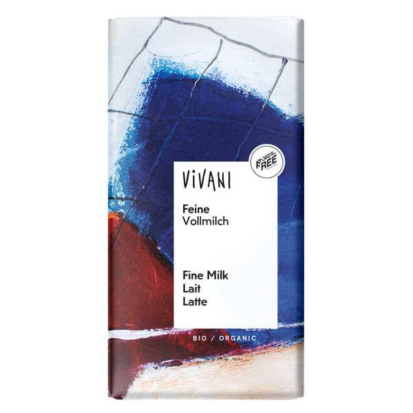 Vivani Chocolat au lait bio - Vivani - Tablette 100g